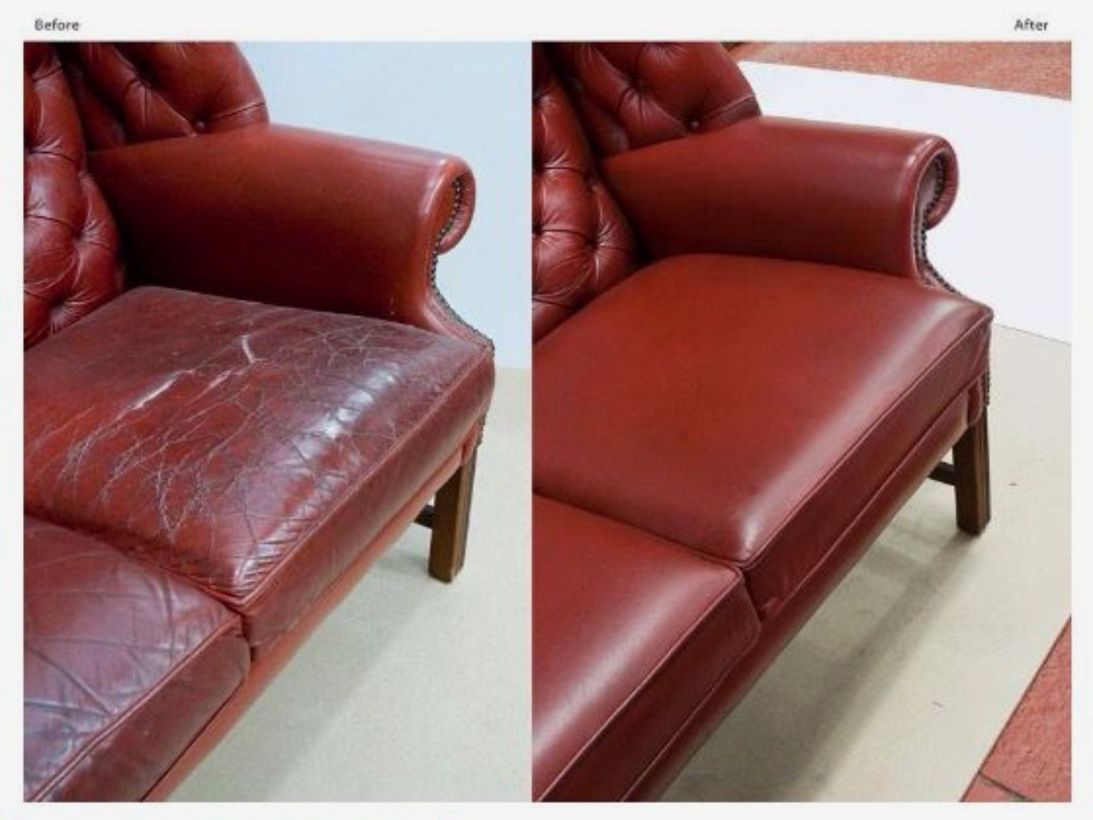 Furniture Repair Maryland Flaking White Bonded Leather